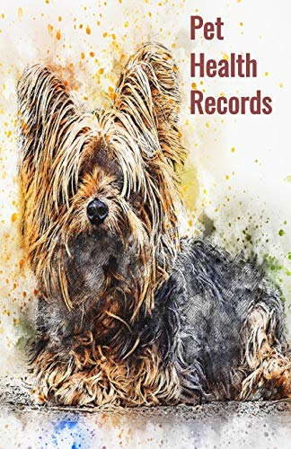 Pet Health Records: Dog Vaccination Record Book, Dog Immunization Log, Shots Record Card, Puppy Vaccine Book, Vaccine Book Record, Dogs Medical ... - Perfect Gift for Dog Owners and Lovers