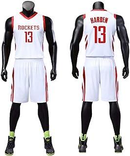 WYN Jersey Camiseta de Manga Corta de la NBA Shorts No.30 Curry No.35 Durant No.13 Harden Basketball Adecuado para niño niña