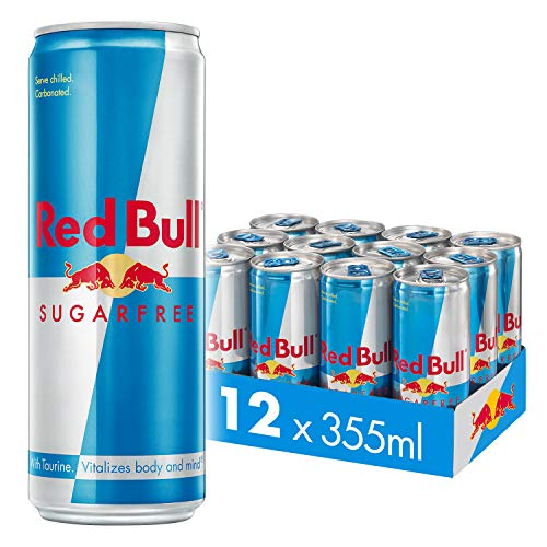 Red Bull Energy Drink Sugarfree 12 Pack of 355ml