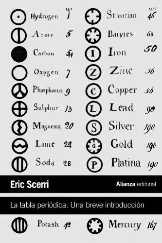 La tabla periódica: Una breve introducción (El libro de bolsillo - Ciencias)