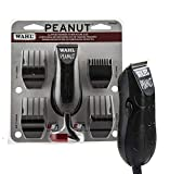 Wahl Professional Peanut Clipper/Trimmer, Great On-the-Go Trimmer for Barbers and Stylists, Powerful Rotary Motor, Black