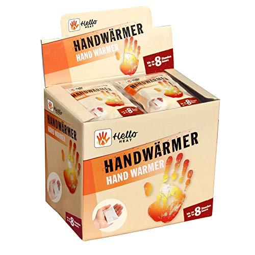 HELLO HEAT (WARMPACK) 40 Paar Handwärmer I Wärmepads für 8 Stunden Wärme I Sofort aktivierbare Taschenwärmer I Zuverlässiges, warmes Heatpad – ideal für Jackentasche, Hosentasche & als Handschuhwärmer