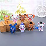 Inspired by Five Nights Five Nights at Freddy's Figures Mini Cute Set 6 pcs, 2.4 inches