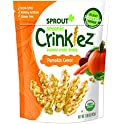 Sprout Organic Crinklez Toddler Snacks, Pumpkin Carrot, 1.48 Oz Bag