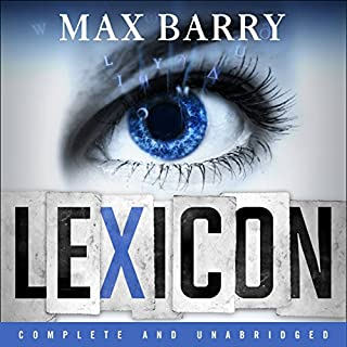 Lexicon audiobook cover art