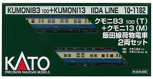 KATO Nゲージ クモニ83100+クモニ13飯田線荷物電車 2両セット 10-1182 鉄道模型 電車