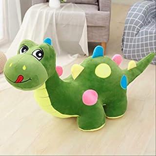 hokkk Rosa//Verde//Blu Simpatico Peluche di Dinosauro farcito Bambola Divano Dinosauro Peluche Animali per Bambini Giocattolo Dino Compleanno Plushie Lunghezza Regalo 30 cm Blu