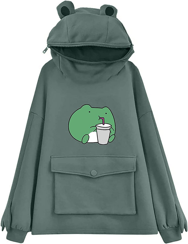 felwors Teen Girls Hoodies Pullover, Women 2021 Heart Pocket Drawstring Hoodie Sweatshirt Jumper Pullover Tunics Blouses