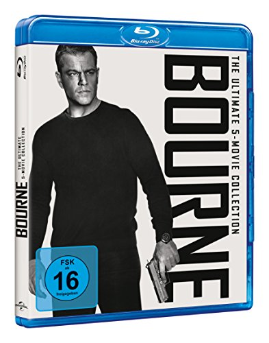 BOURNE-THE ULTIMATE 5-MOV - MO [Blu-ray]