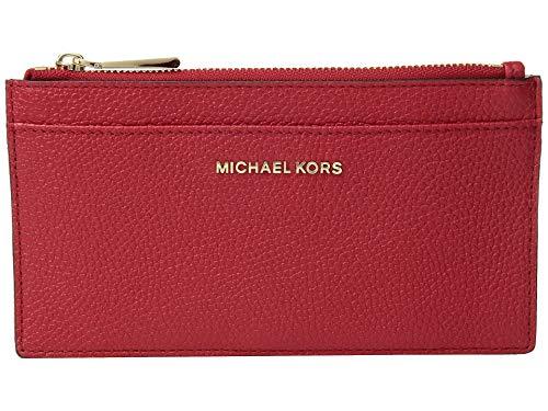 MICHAEL Michael Kors - Funda para tarjeta (tamaño grande), color rojo