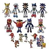 Figura de Sonic Sonic Sonic Supersonic Mouse Regalo de Navidad Muñeca de juego para niños Muñeca mod...