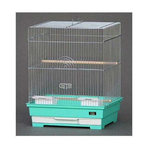 バードケージ 365-S(角) グレーメッキ金網 ブルー