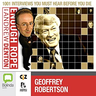 Enough Rope with Andrew Denton: Geoffrey Robertson cover art