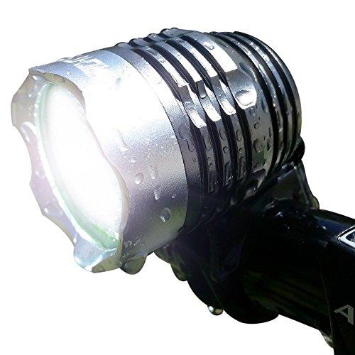 Neutral 1200 Lumen Flashlight,Bike Light CREE XM-L T6 LED USB Rechargeable HeadLamp Cycling Bicycle Light Waterproof HeadLight (Black)(no built-in battery)