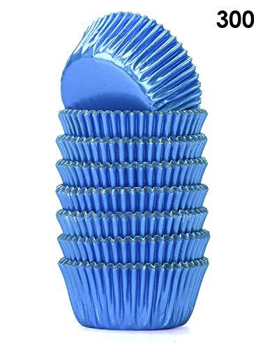 mini baking cups blue - 2