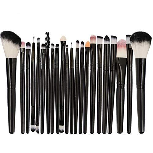 Weixinbuy 15 / 22pcs Pinceaux de maquillage Set Foundation Foundation Brush Eyeshaow Brush Blush Brush Highlighter Brush Kit, Great Choice and Gift fo