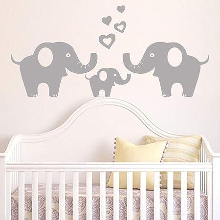 Elephant Wall Decal Family Art Indian Boho Bedding Home Decor Nursery Bedroom Yoga Studio Decor Vinyl Elephant Sticker S28