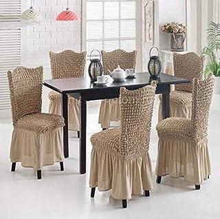 غطاء 6 مقعد طاولة السفرة مطاطي صناعة تركية
