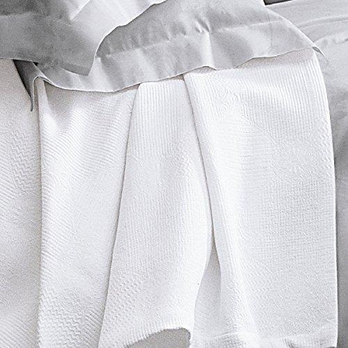 Blanc des Vosges Couvre-lit 230/250 cm Verone Blanc