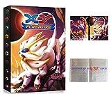Álbumes Compatible con Cartas Pokemon, Carpeta Compatible con Cartas de Pokémon, Álbum Titular Compatible con Cartas Pokémon, 24 páginas con capacidad para 432 cartas (9P-Sun&Moon)