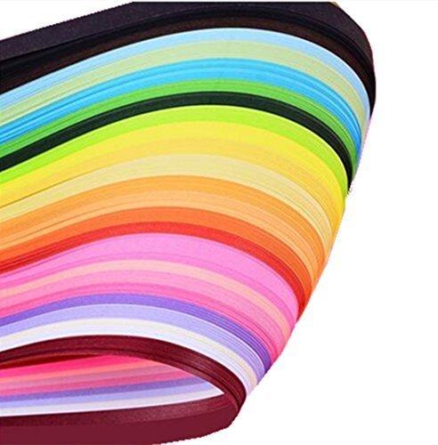 Quilling-Papierstreifen Papier Quilling Set 260 Streifen 26 Farben 39 cm Länge/5 Breite erhältlich