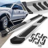 (2Pcs) Stainless 6 Inch Chrome Running Boards,Side Step Bars Compatible with 04-14 Ford F-150 Crew Cab