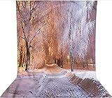 Fondo de fotografía de 1,8 x 2,7 m, diseño de árboles...