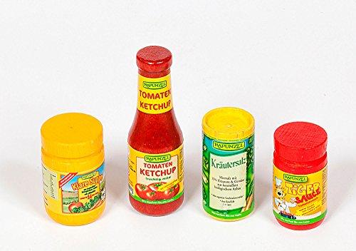 Polly 4489 Bio Naturkost Holz Zubehör Ketchup