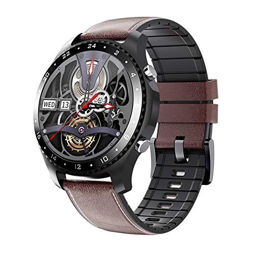 WEINANA Smartwatch Bluetooth-Anruf Herzfrequenz Blutsauerstoffüberwachung Smartwatch Ios GPS Sports Smart Bracelet(Color:C.)