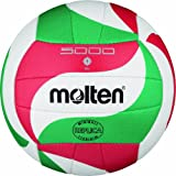 Molten Volleyball - White/Green/Red