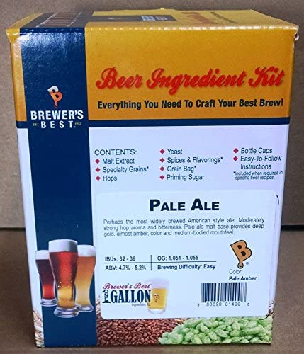 Brewer s Best One Gallon Home Brew Beer Ingredient Kit Pale Ale product image