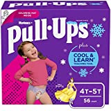 Pull-Ups Cool & Learn Girls' Training Pants, 4T-5T, 56 Ct