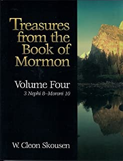 Treasures From the Book of Mormon(volume Four 3 Nephi 8-moroni 10) (4th Voume)