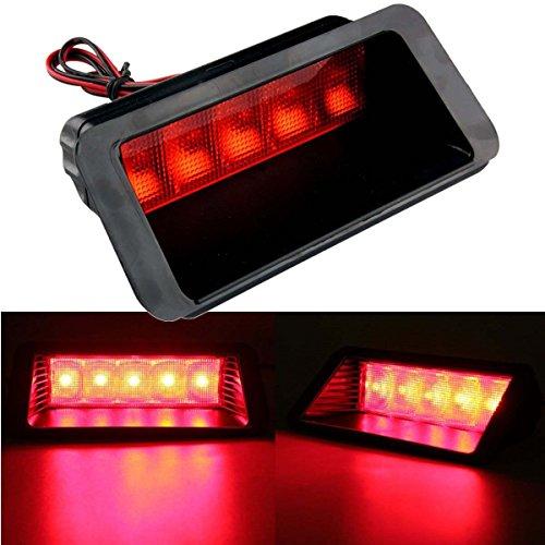 Possbay 5 LED Auto Bremsleuchten Rot Warnung Rücklicht