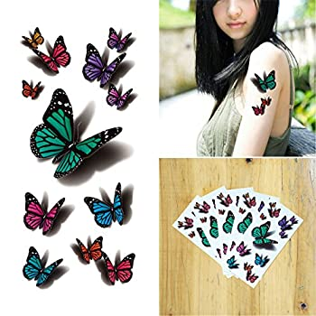 Best 3d butterfly tattoos with names Reviews
