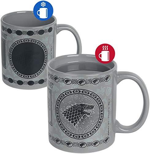 Game of Thrones Tasse Hitze Farbwechsel, Mehrfarbig, 11 Oz/315 ml