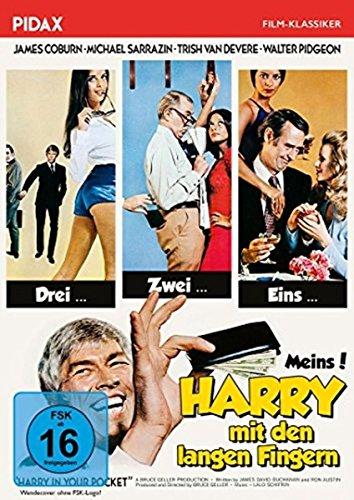 Harry mit den langen Fingern (Harry in your Pocket) / Turbulente Gaunerkomödie mit James Coburn und Michael Sarrazin (Pidax Film-Klassiker)