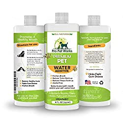 Premium Pet Works Water Additive for Dog Breath