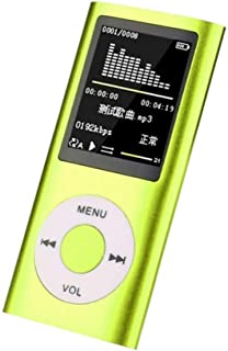 COODIO for iPod Style 32GB Portable 1.8in LCD MP3 MP4 Music Video Media Player FM Radio Portable Colorful MP3 MP4 Player M...