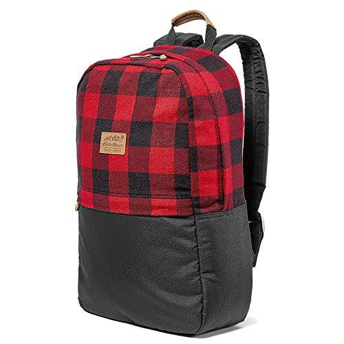 Eddie Bauer Unisex-Adult Ashford Backpack, Scarlet Regular ONESZE