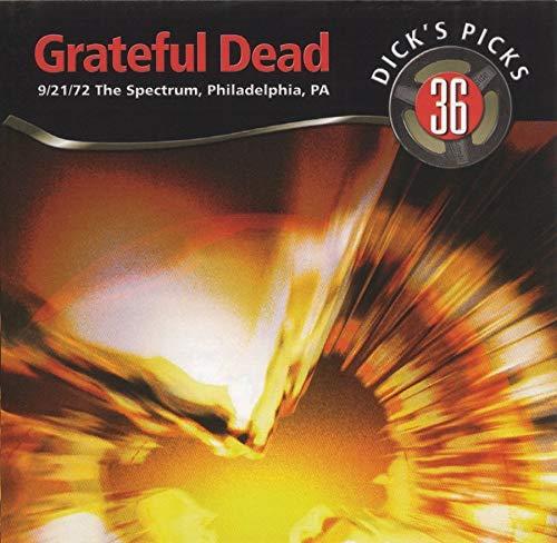 Dick s Picks Vol. 36-The Spectrum, Philadelphia, PA 9 21 72 (4-CD Set)
