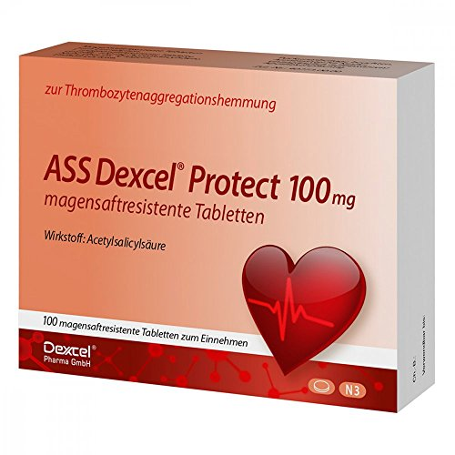 ASS Dexcel protect 100 mg Tabletten, 100 St. Tabletten