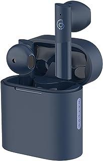 HAYLOU Moripods Auriculares inalámbricos con Bluetooth V5.2, Dispositivo de Audio Qualcomm QCC3040,AptX, Adaptable, AAC, 4 micrófonos (Azul)