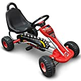 STAMP SAS J893002 Go Kart Cars, Niños, Red, 3+