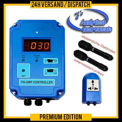 OCS.tec 2-voudige controller regelaar meter (PH + Redox) ORP Ozon Aquarium Pool Spa vijver zoet- en zoutwater P19