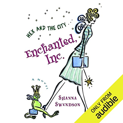 Enchanted, Inc. audiobook cover art