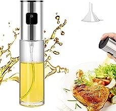Oil Spray for Cooking, 100ML Olive Oil Sprayer Mister, Portable Reusable Oil Vinegar Spriter Sprayer Bottles, Food Grade Oil Dispenser Mini Kitchen Gadgets for Air Fryer, BBQ, Frying, Baking, Salad