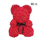 Faviye Seifenblüte, Rosa, Puppe, Bär, Rosa, Duft, Badeseife, zur Dekoration, Geschenk für Urlaub