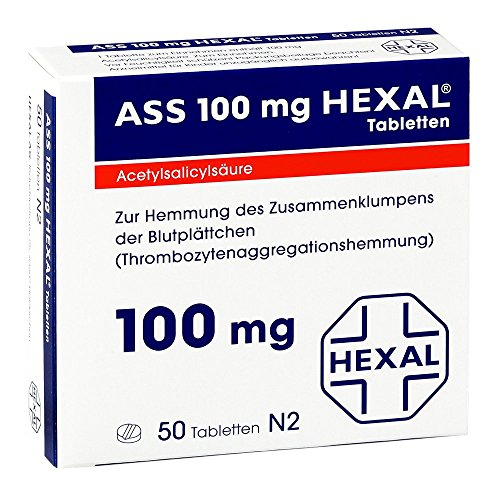 ASS 100 HEXAL Tabletten 50 St Tabletten