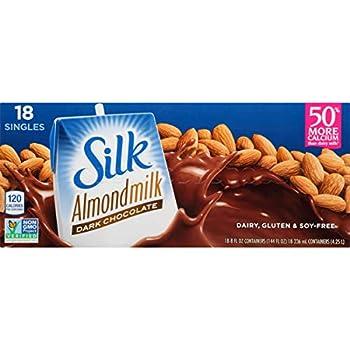 Silk Organic Original Almond Milk 8 fl OZ  pack of 18